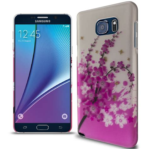 Backcover Samsung Note 2 Motif 7 phone for samsung galaxy note 5 flower design slim back cover ebay
