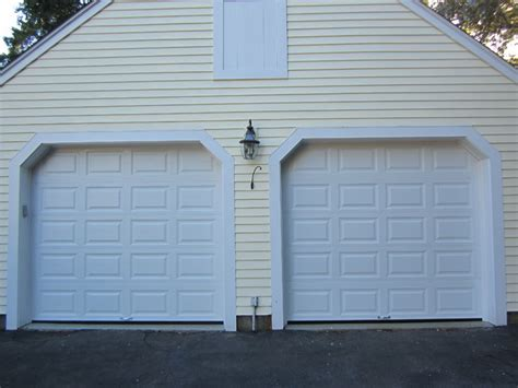 Raised Panel Garage Door Raised Panel Steel Insulated Garage Doors Traditional Garage And Shed Boston By Mortland