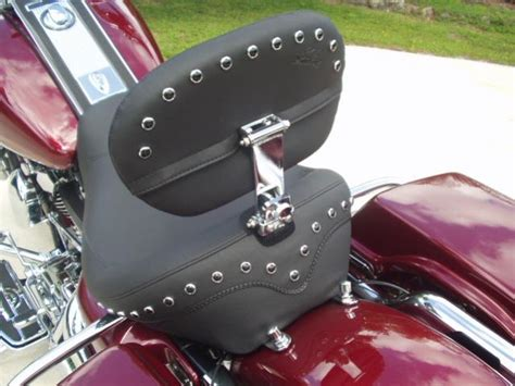 best touring seat for harley road king best quality touring seat w detachable backrest harley
