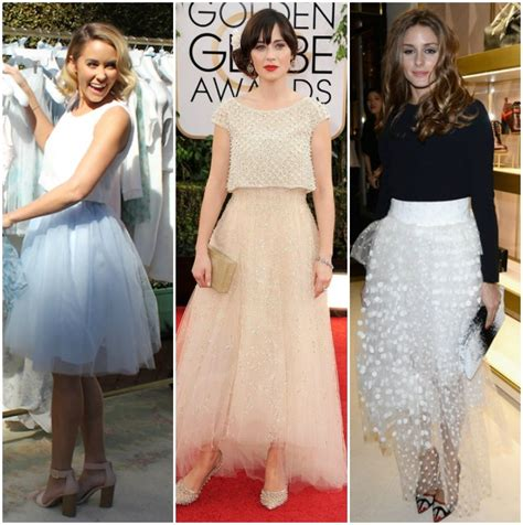 celebrity pink skirt celebrity style tulle skirt