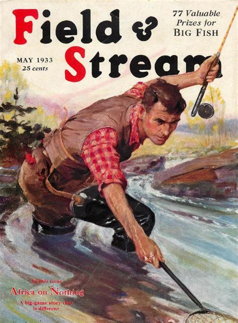 chad s drygoods outdoor life magazine cover art this cover painting for the july 1953 field and stream