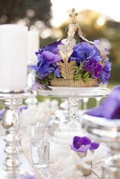 princess wedding centerpieces on crown