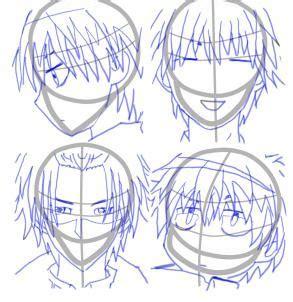 membuat sketsa wajah anime anime