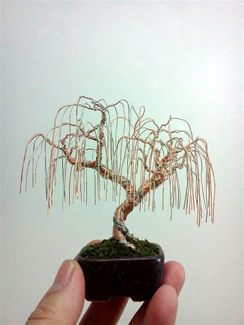 how to make a wire jewelry tree and this d a minni willow tree how d how to make