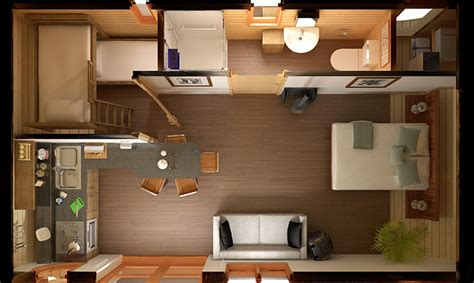 What Is A Great Room Floor Plan by 10 Ideal Cottages With Less Than 40 Square Meters Just3ds