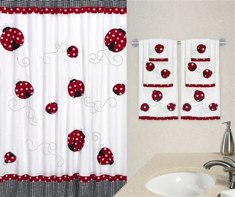 ladybug kitchen curtains ladybug kitchen curtains sweet jojo designs polka dot