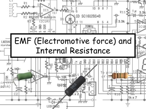 definition of resistance in physics a level electromotive and resistance a level physics