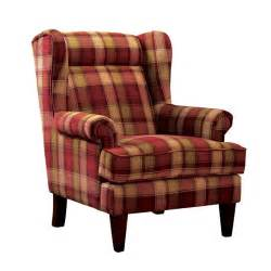 Wingback Accent Chair Furniture Of America Henry Wingback Accent Chair In Idf Ac6180rd