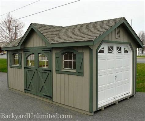 backyard unlimited garages large storage album image 1 backyard