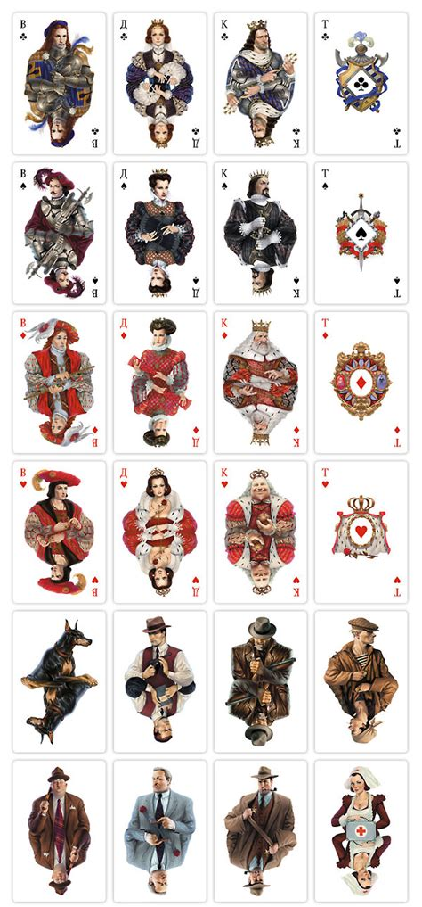 game design queens mafia playing cards official edition