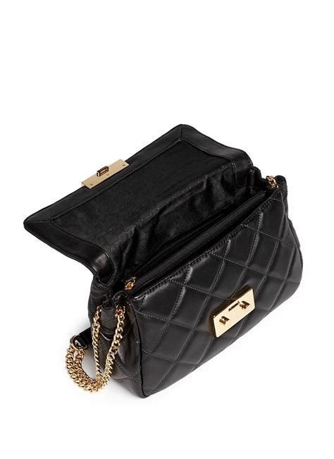 Quilted Backpack Bags by Michael Kors Sloan Quilted Shoulder Bag Mini Crossbody Bag