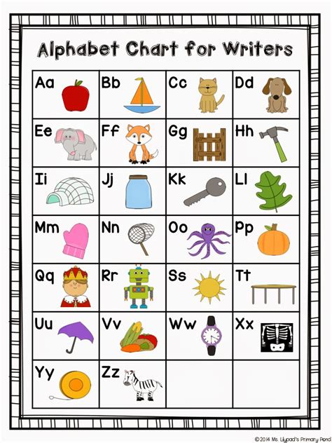 printable letters chart free printable alphabet chart for kids search results