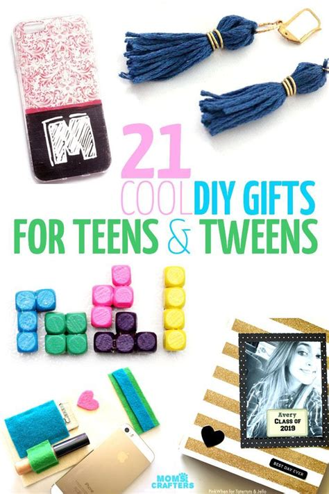 diy crafts for tweens 21 diy gifts for and tweens craft and gift