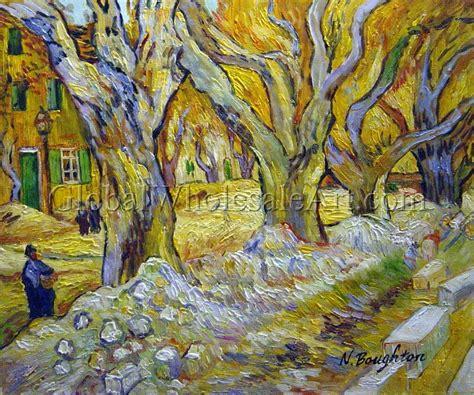 Oil Paintings Global Wholesale Art | vincent van gogh large plane trees oil paintings on canvas