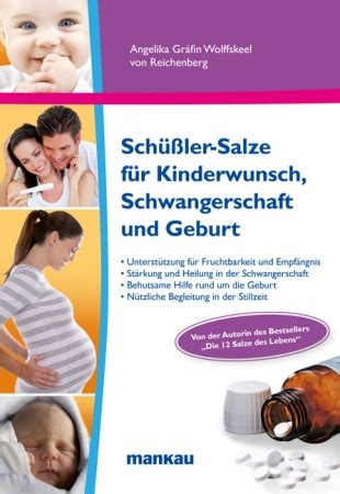 schüssler salze bei schlafstörungen mit sch 252 223 ler salzen vom kinderwunsch zur schwangerschaft