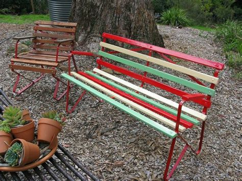painted outdoor benches 10 unexpected ways to use leftover paint hometalk