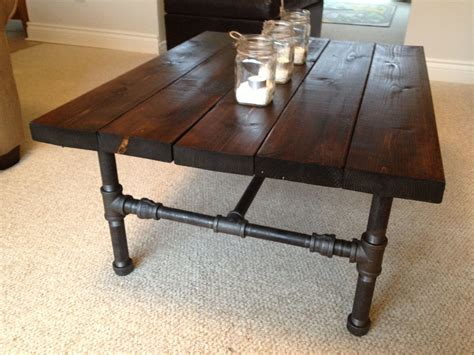 Coffee Table Required Pipes Industrial And