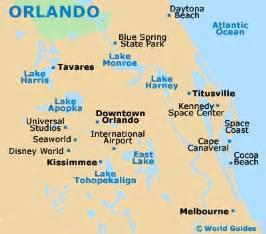 where is orlando in usa map orlando maps and orientation orlando florida fl usa