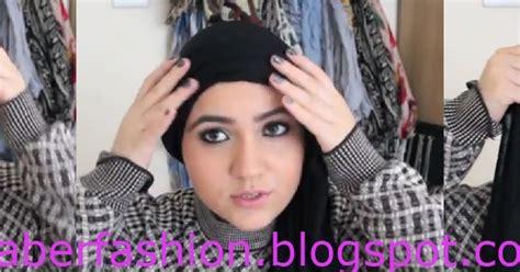 tutorial hijab untuk pipi tembem mencoba berjilbab tutorial hijab turban untuk pipi tembem