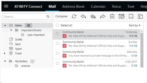 email xfinity support what does the xfinity logo next to an email message mean