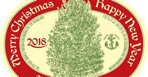 anchor brewing reveals  merry christmas happy  year special ale mybeerbuzzcom