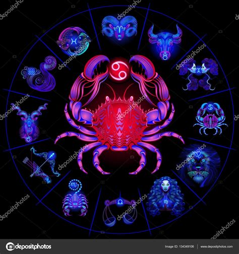 pronostico del signo de cancer del 2016 c 237 rculo del hor 243 scopo de ne 243 n con signos del zodiaco