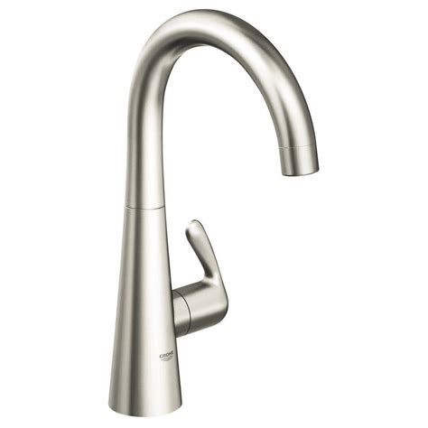 stainless steel bathroom faucets grohe ladylux stainless steel bathroom faucet handle