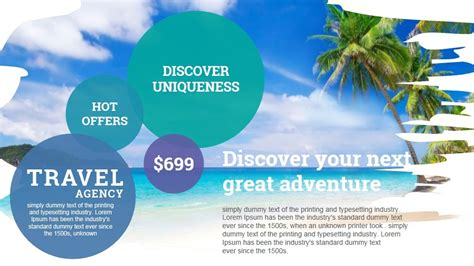 presentation templates for tourism travel and tourism powerpoint presentation template by