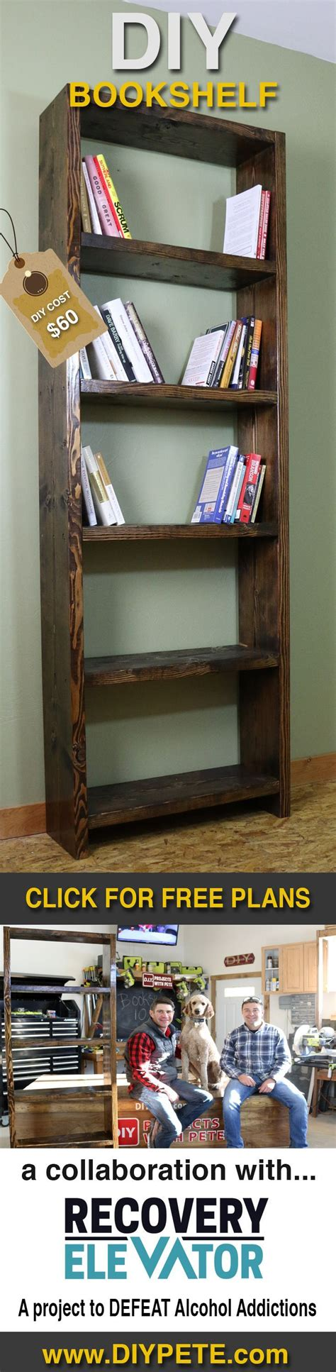 how to build a bookcase for beginners a simple diy bookshelf and how hobbies have a positive