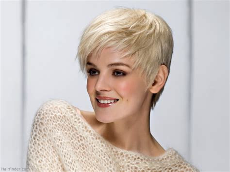 ultra feminine hair for men ultra short feminine haircut with feathering in the layers