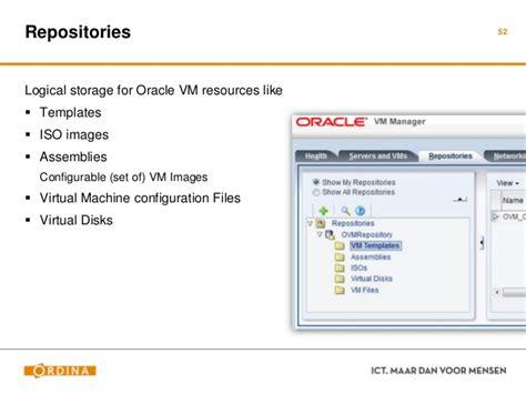 oracle virtual machine template