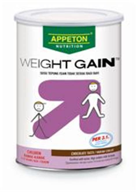 Appeton Weight Gain Umur 16 meal supplements for weight gain