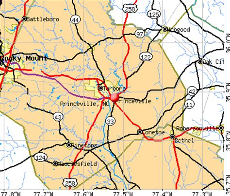 princeville, north carolina (nc 27886) profile: population