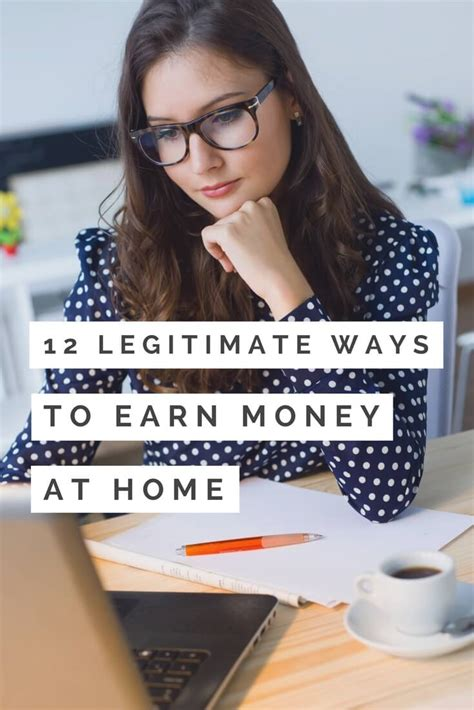 How To Make Money At Home 12 Legitimate Ways To Earn More How To Make Money At Home 12 Legitimate Ways To Earn More
