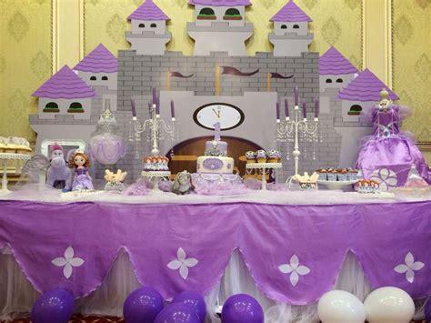 Princess Sofia Decorations princess sofia birthday ideas photo 1 of 36 catch my