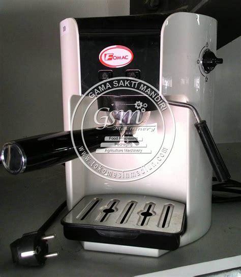 Mesin Kopi Semi Otomatis mesin pembuat kopi semi otomatis toko mesin madiun
