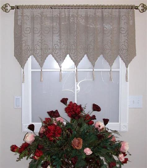 patterns for curtains valance patterns free crochet images