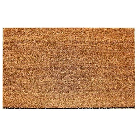 Coir Doormat by Beige 18 In X 30 In Coir And Vinyl Door Mat 20815 1