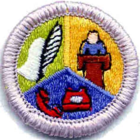 Communication Merit Badge Worksheet by Advancement Boy Scout Troop 21 Zeeland Michigan