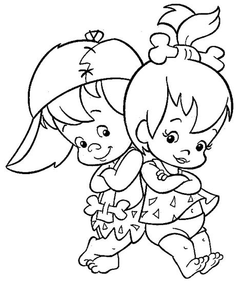 flintstones coloring pages picgifs com