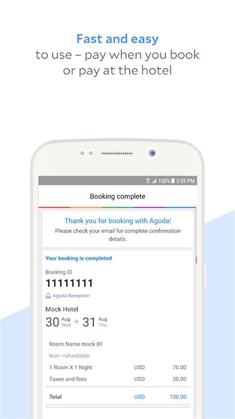 agoda retrieve booking agoda hotel booking deals android apps on google play