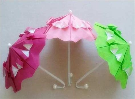 How To Make Origami Umbrella - origami modular umbrella image 767791 on favim