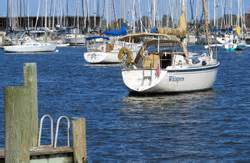 annapolis boat show moorings the sailboat cruiser issue 2