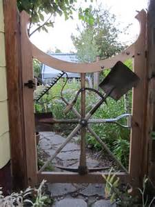 backyard gate montana wildlife gardener a repurposed garden tool