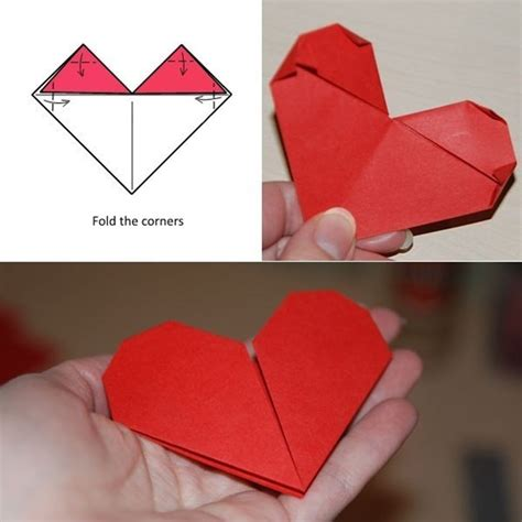 Origami For Valentines Day - origami valentine s day ecard diy is