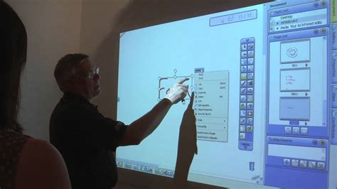Proyektor Interaktif hitachi interactive projector demonstration