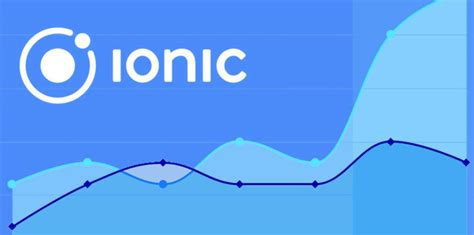 ionic image tutorial setting up a chart in an ionic app using highcharts