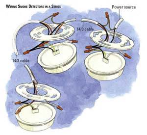 wired smoke detector