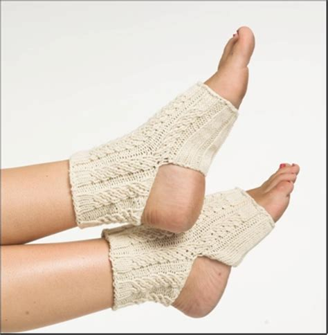 yoga socks pattern knit cable yoga socks knitting pattern favecrafts com