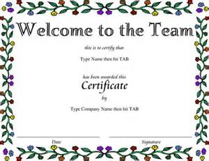 welcome certificate template certificate design studio design gallery best design